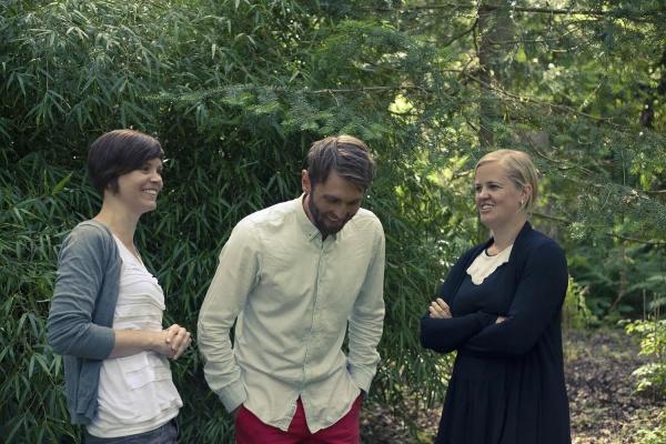 Från vänster: Caroline Petersson, Ingemar Tigerberg och Johanna Stål. Foto Tobias Jansson