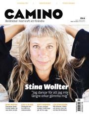 Stina Wollter på Caminos omslag